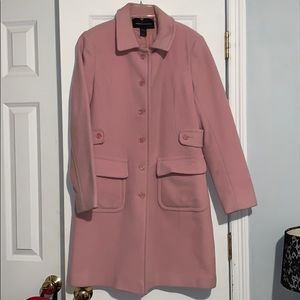 Pink long Pea Coat